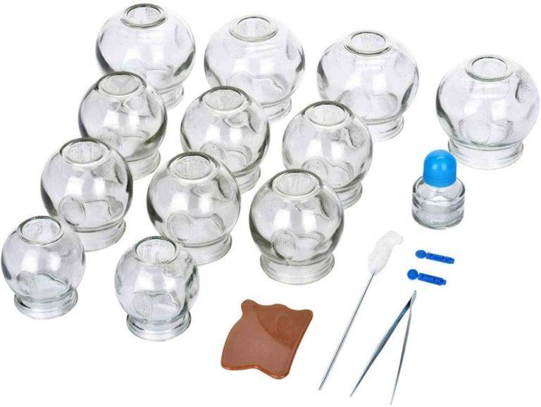 kit de 12 ventouses en verre  accessoires  sports services